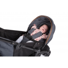 B-Genius Reversible Stroller Dark Grey