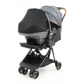 B-Car Seat Group 0+ Light Grey