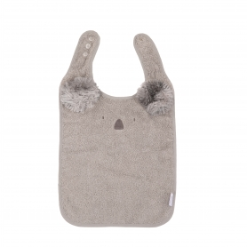 B-Bib Ecological Sponge Koala Grey