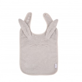 B-Bib Ecological Sponge Grey Rabbit