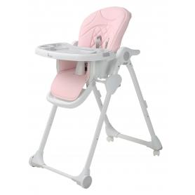 B-Dinner Chair Wheely Roze