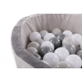 B-Ball Pit Play Gym Grey