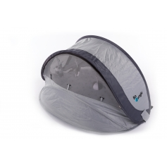 B-Play Nest Pop up Bed Grey Stars