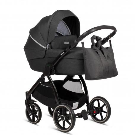 Moonrock Grey (Cradle + Nursery Bag)