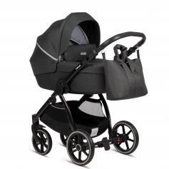 Moonrock Grey (Cradle + Nursery Bag)