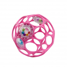 Oball Rattle Pink 10cm