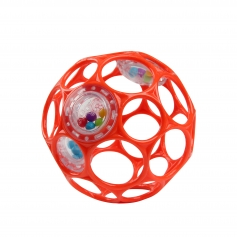 Oball Rattle Rouge 10cm