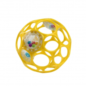 Oball Rattle Yellow 10cm