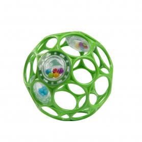 Oball Rattle Green 10cm