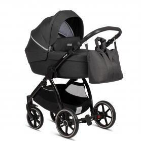 Midnight Black (Cradle + Nursery Bag)