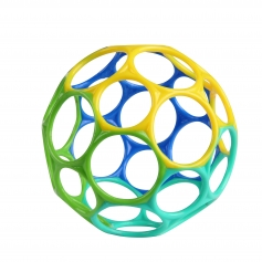 Oball Classic™ Easy-Grasp Toy - Blue/Green