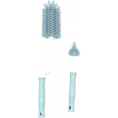B-Bottle Brush Set Blauw