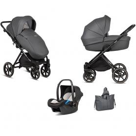 B-Shadow Greyy Stroller - Lummy Frame - Full Option - With Car Seat