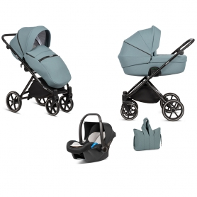B-Classy Blue Stroller - Lummy Frame - Full Option - With Car Seat