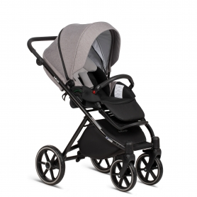 B-Classy Blue Stroller - Lummy Frame - Full Option - With Car Seat