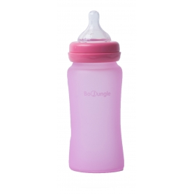 B-Thermo Glass Bottle 240 ml Pink