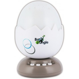 B-Egg Night Light Projector with Music Taupe