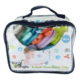 B-Bath Time Foam Toys 36 pcs set