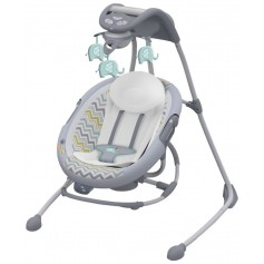 InLighten 2-in-1 Cradling Swing Avondale