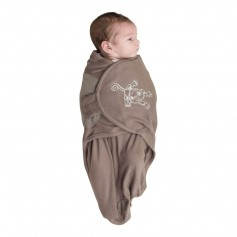 B-Wrap Taupe Monkey Small