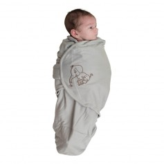 B-Wrap Grey Elephant Large