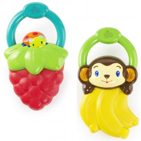 Vibrating teether