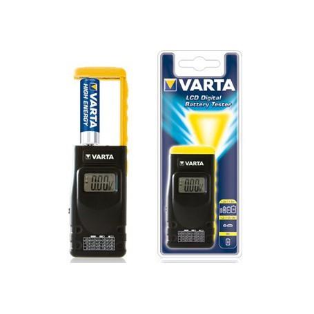 Testeur de piles Varta