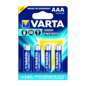 Varta High Energy 1,5 Volt AAA 4 pack