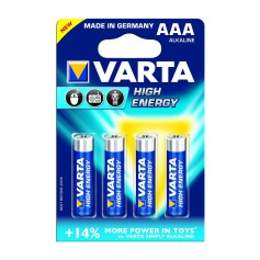 Varta High Energy 1,5 Volt AAA 4 pack