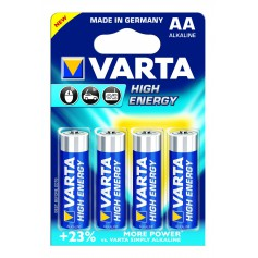 Varta High Energy 1,5 Volt AA (4 pack)