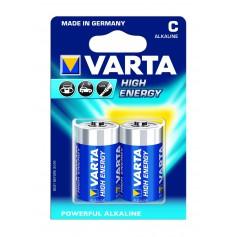 Varta High Energy 1,5 Volt C (2 pack)