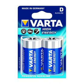 Varta High Energy 1,5 Volt D (2 pack)