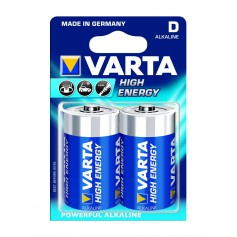 Varta High Energy 1,5 Volt D (2 pack)