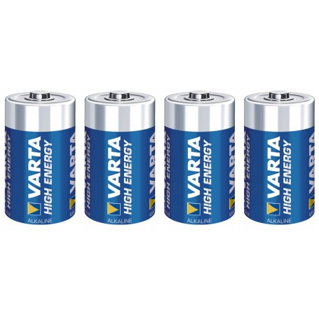 Varta High Energy 1,5 Volt D (4 pack)