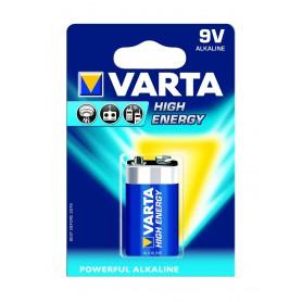 Varta High Energy 9 Volt Block E (1 pack)