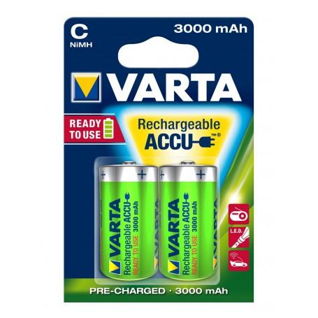 Varta Long Life Accu 1,5 Volt C (2 pack)