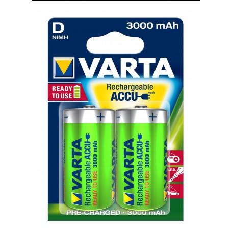 Varta Long Life Accu 1,5 Volt D (2 pack)