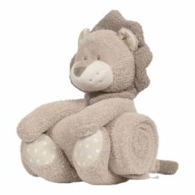 B-plush toy with blanket Kenzi le Lion