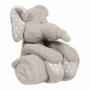 B-plush toy with blanket Zimbe the Elephant