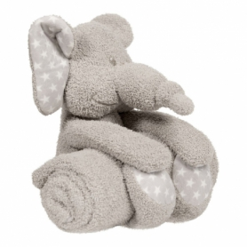 B-plush toy with blanket Zimbe the Elephant