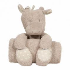 B-plush toy with blanket Senna la Girafe