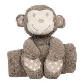 B-plush toy with blanketTambo the Monkey