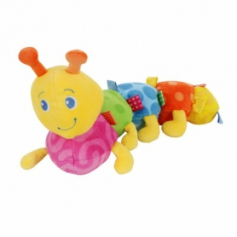 Big Colors caterpilar Plush