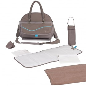 B-City Nursery Bag Taupe