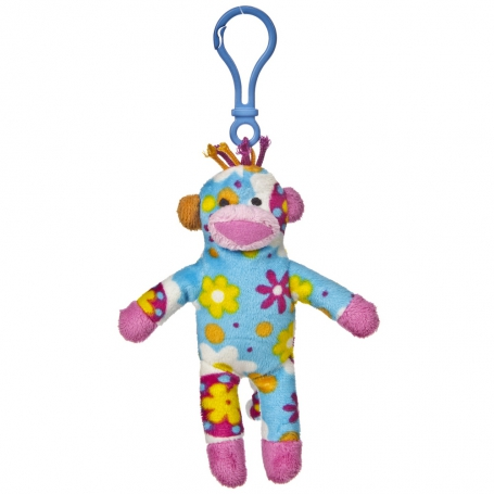 Sock Monkey Clip Ons