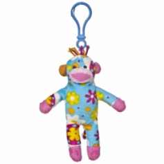 Sock Monkey Clip Ons