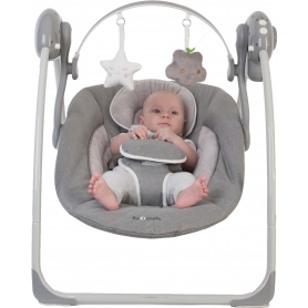 B-Portable Swing Gris (0 - 9 kg)