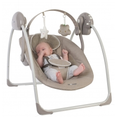 B-Portable Swing Taupe (0 - 9 kg)