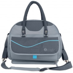 B-City Nursery Bag Grey