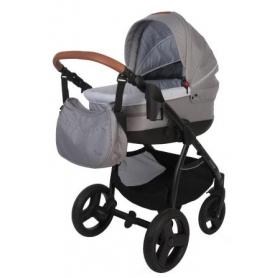 B-Zen 4 in 1 Stroller Gris Clair (Sans siège voiture)